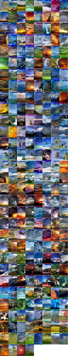 244 Immaculate Scenery Collection Theme
