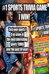 #1 Sports Trivia IQ Game I Win
