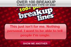 100 Breakup Lines