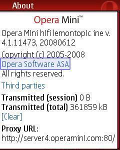 Скачать бесплатно opera mini 4 1 для Samsung - Samsung S5610