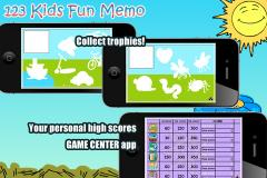 123 Kids Fun Memo HD Lite