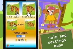 123 Kids Fun Puzzle Green HD (FULL VERSION)