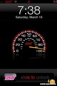 iPhona Subaru STi