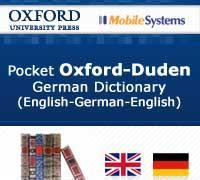 Oxford Duden English-German Dictionary