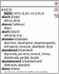 english spanish english dictionary