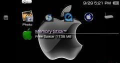 Apple PsP Theme