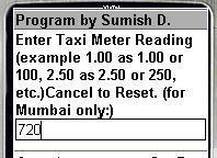 Taxi fares