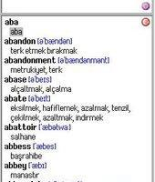 English-Turkish Dictionary-