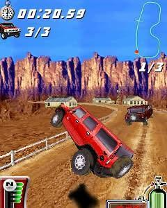 Hummer jump and race