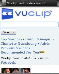 Vuclip Mobile Video Search