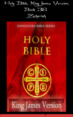 Holy Bible, King James Version, Book 38 Zechariah