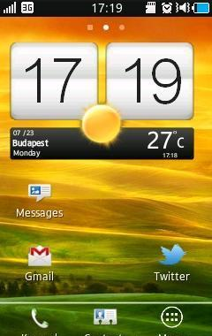 Clock Widget Htc One X Style
