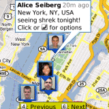 Google Maps for mobile with Latitude