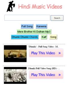 Hindi Music Videos