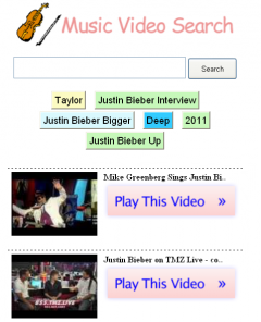 Music Video Search