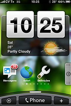 HTC Hero for iPhone