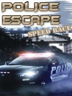 Police escape speed race
