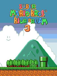 Super Mario bros.: Dreams blur 3
