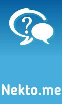 Anonymous chat NektoMe