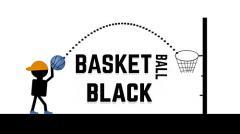 Basketball black