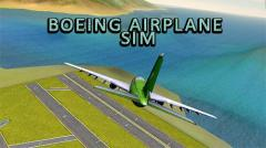 Boeing airplane simulator