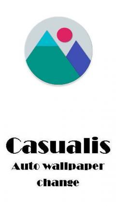 Casualis: Auto wallpaper change