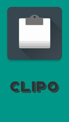 Clipo: Clipboard manager