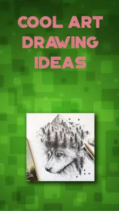 Cool art drawing ideas