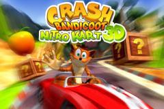 Crash bandicoot kart