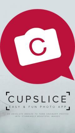 Cupslice photo editor