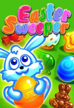 Easter sweeper: Eggs match 3