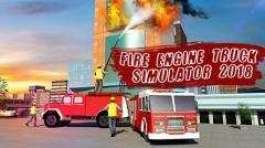 Fire engine truck simulator 2018