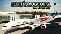 Flight simulator 3D: Airplane pilot