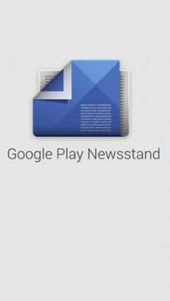 Google Play: Newsstand