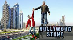 Hollywood stunts movie star
