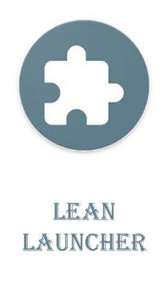 Lean launcher