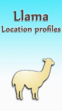 Llama: Location profiles