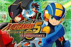 Megaman: Battle network 5. Team Colonel