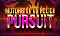 Motorbike vs police: Pursuit