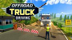 Offroad truck driving simulator