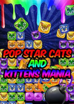 Pop star cats and kittens mania