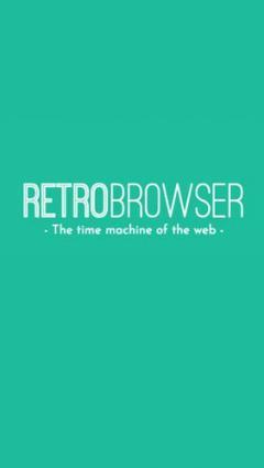 RetroBrowser - Time machine