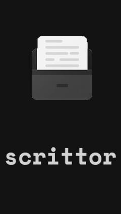 Scrittor - A simple note
