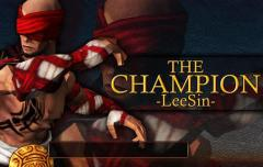 The champion Lee Sin: Legend