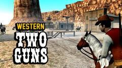 Western two guns