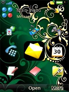 Baroque Green Theme