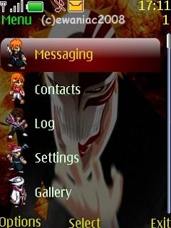 Ichigo Hollow Theme Application