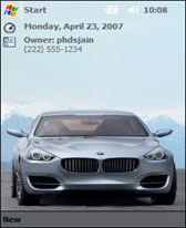 2007 BMW Concept CS Theme