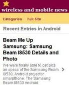 Wireless and Mobile News Mobile Website