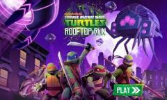 TMNT: Rooftop run - Черепашки Ниндзя